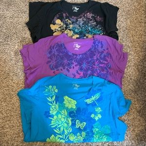 3 Just My Size Tees